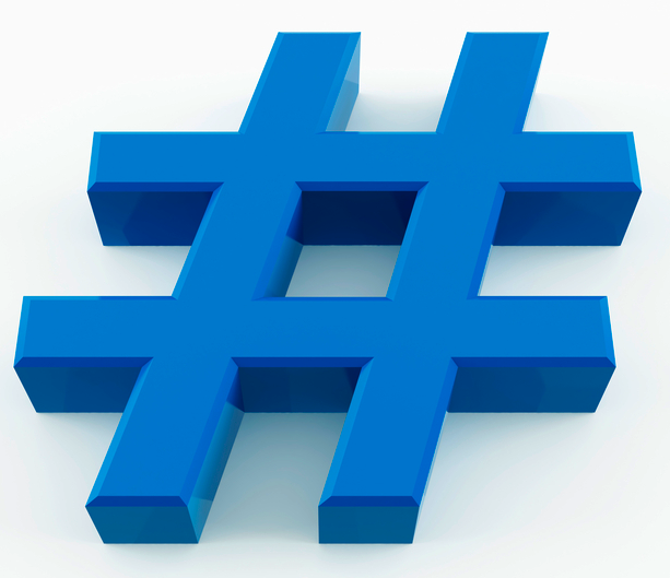 the value of a hashtag   way to blue