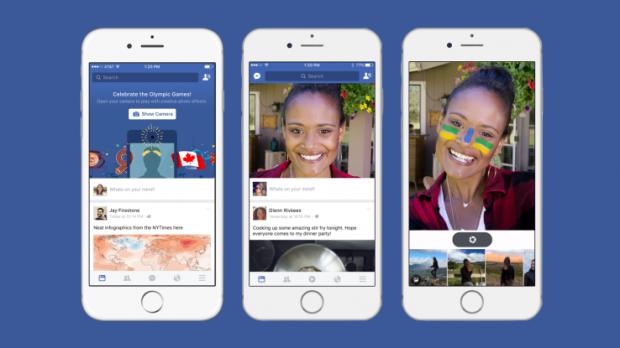 Facebook-MSQRD-Snapchat