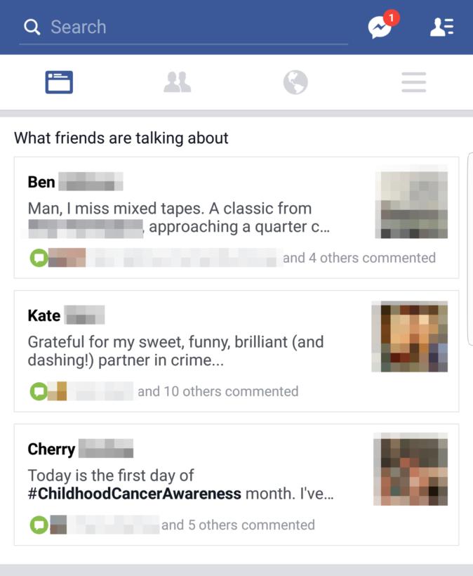 facebook-test-feature